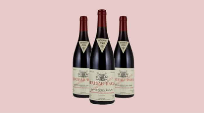 Red wine: Chateau Rayas Chateauneuf du Pape Reserve 2008 (France)