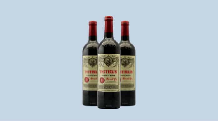 Dry red wine: Chateau Petrus 2018