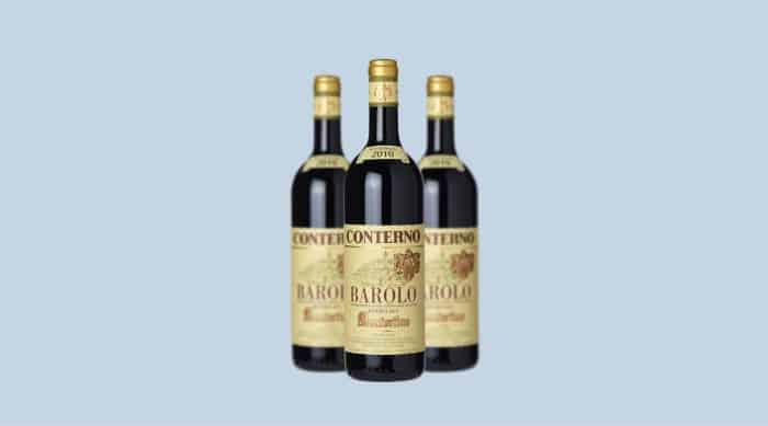 Dry red wine: Giacomo Conterno Monfortino 2010