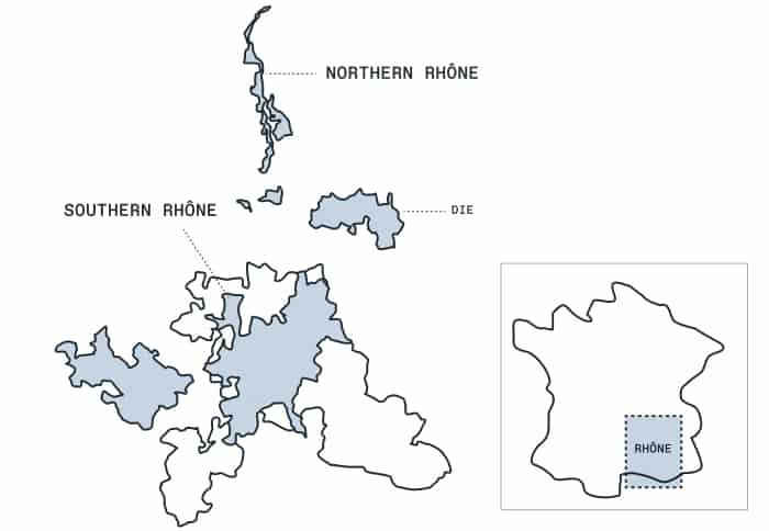 Cotes du Rhone wine: The Rhône Valley Wine Region