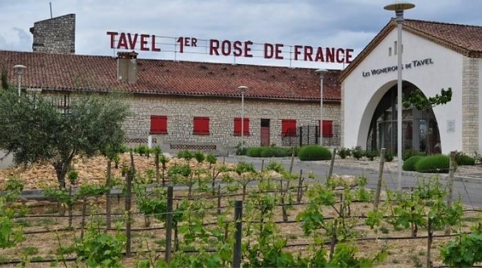 Cotes du Rhone wine: Tavel