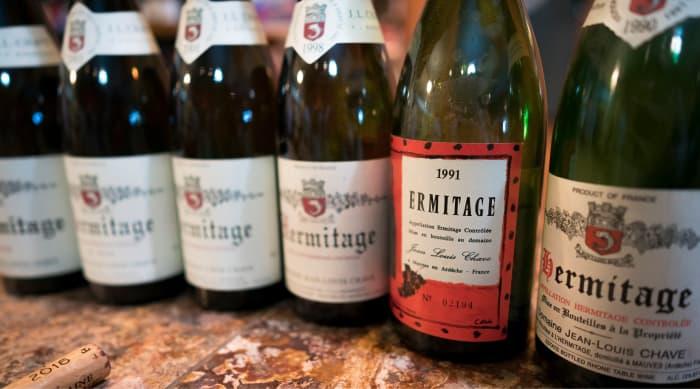 Cotes du Rhone wine: Domaine Jean-Louis Chave Hermitage Blanc, Rhône, France