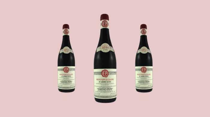 Montepulciano d'Abruzzo wine: Emidio Pepe 2010