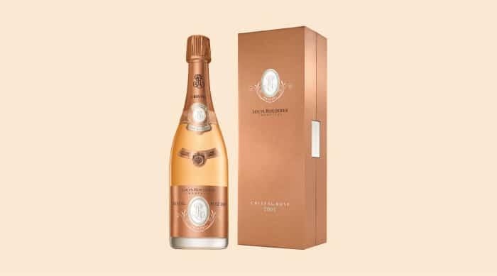 Cristal Champagne: Cristal rose