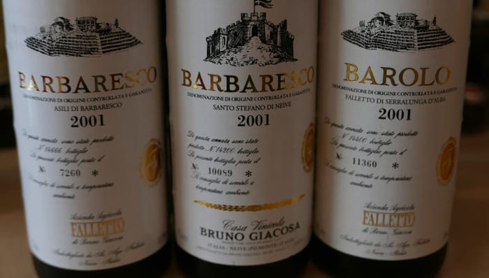 Rare wine: Bruno Giacosa Barbaresco Asili, 2001