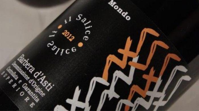 Barbera d'Asti Wine label
