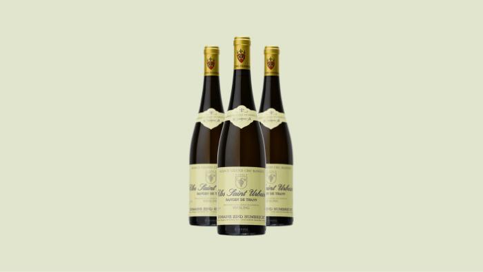 1998 Domaine Zind-Humbrecht Pinot Gris Rangen de Thann Clos Saint Urbain Selection de Grains Nobles, Alsace, France