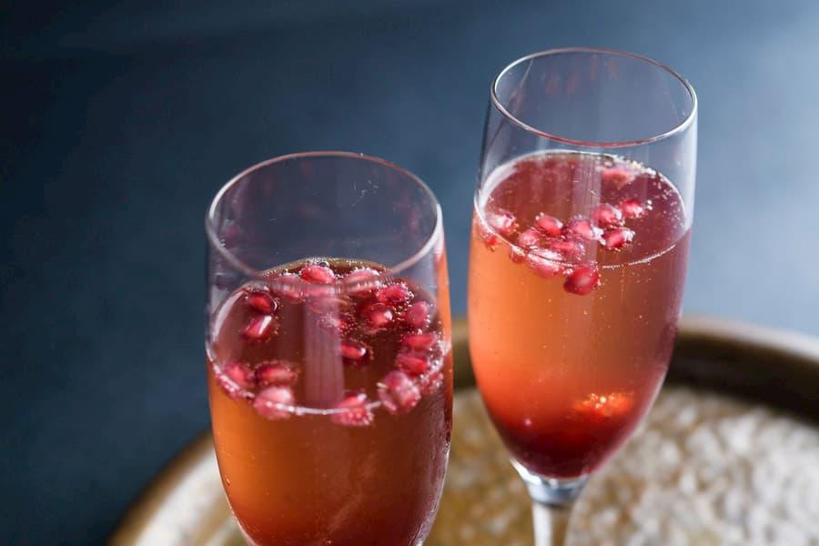 Pomegranate Mimosa
