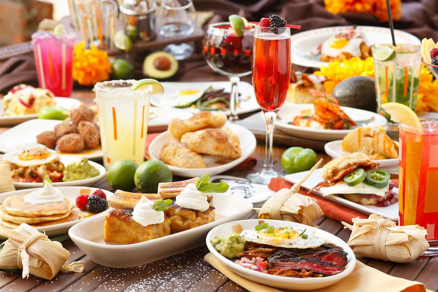 Food to Serve with Mimosa