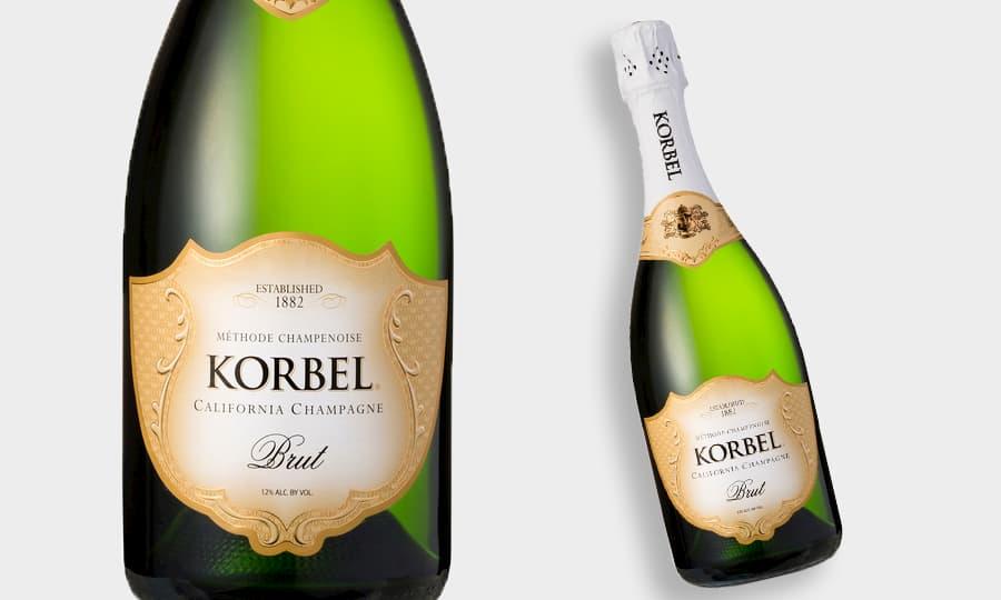 Korbel Cellars California Champagne Brut, USA