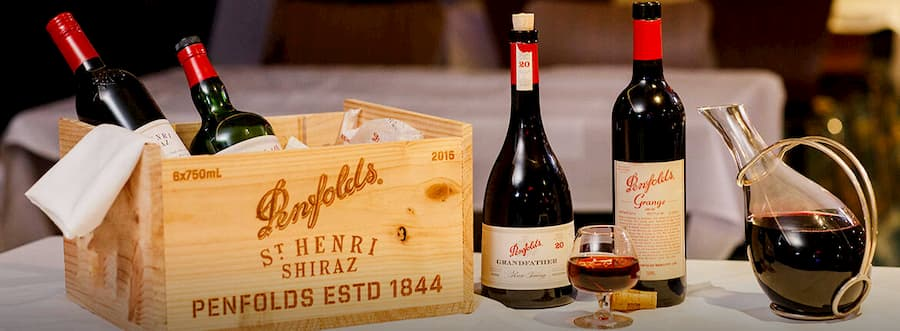 Penfolds Grange Winemaking