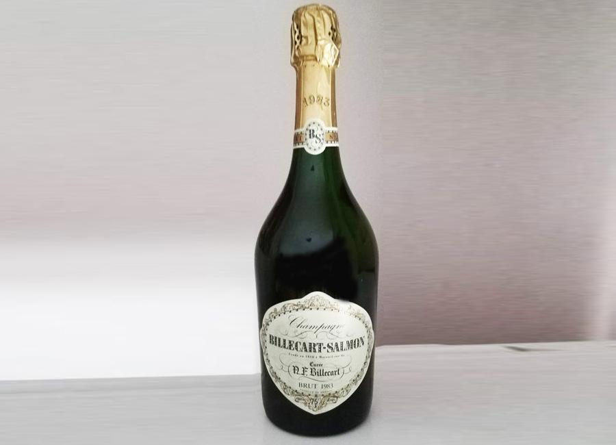 Billecart-Salmon 'Cuvee Nicolas-Francois Billecart' Millésime 1983