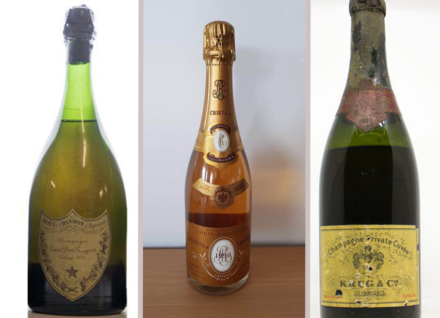 Champagne favorite at auction houses