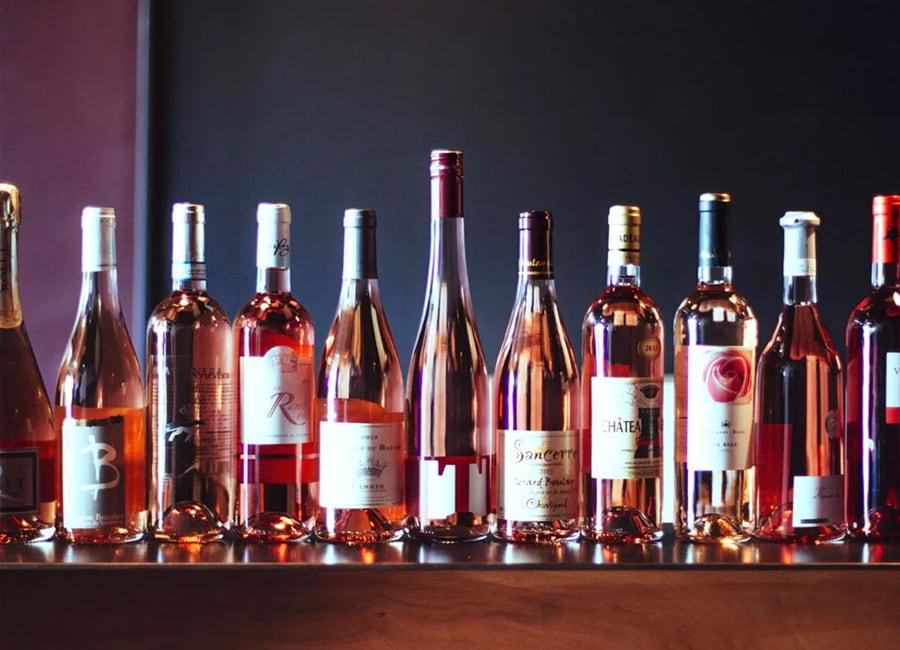 Sweet and Semi-sweet Rose Wine