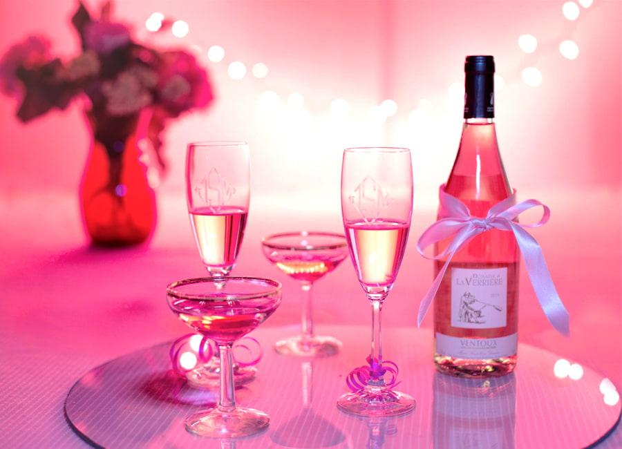Italian Pink Rose wines