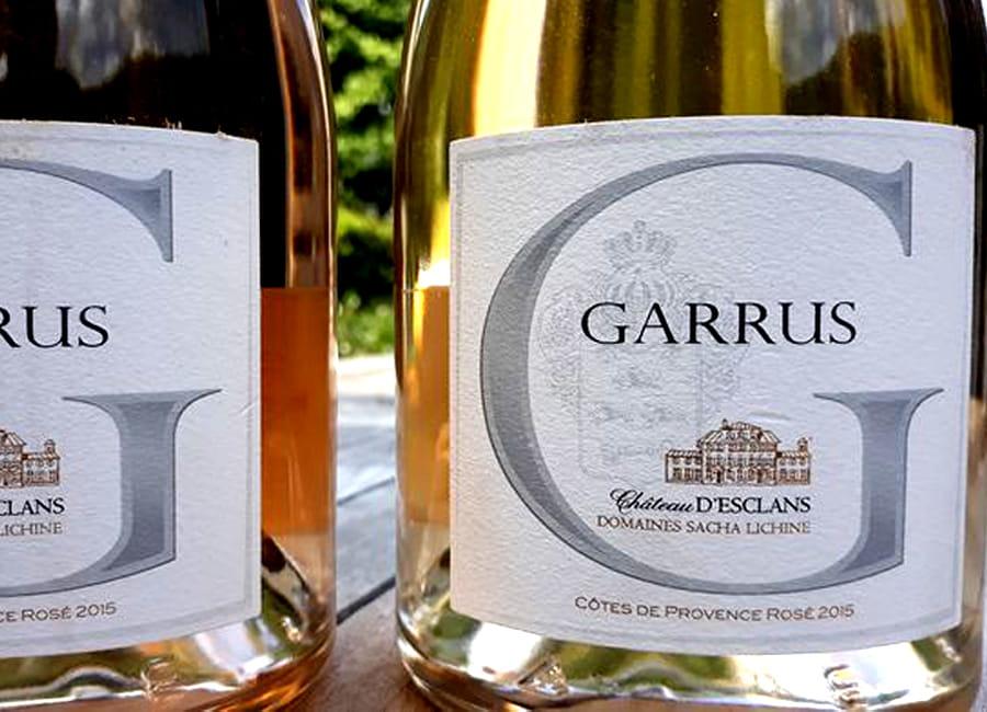 Chateau d'Esclans Cotes de Provence Garrus Rose