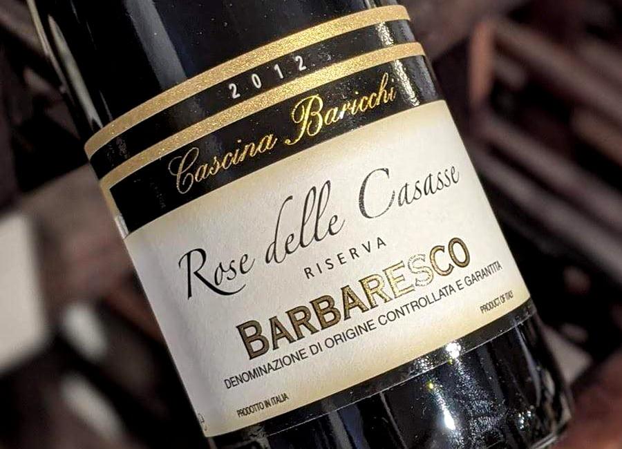 Cascina Baricchi Rose delle Casasse 2012