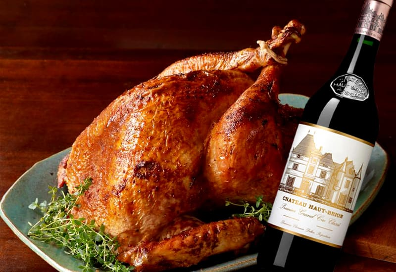 Food pairing with Château Haut-Brion