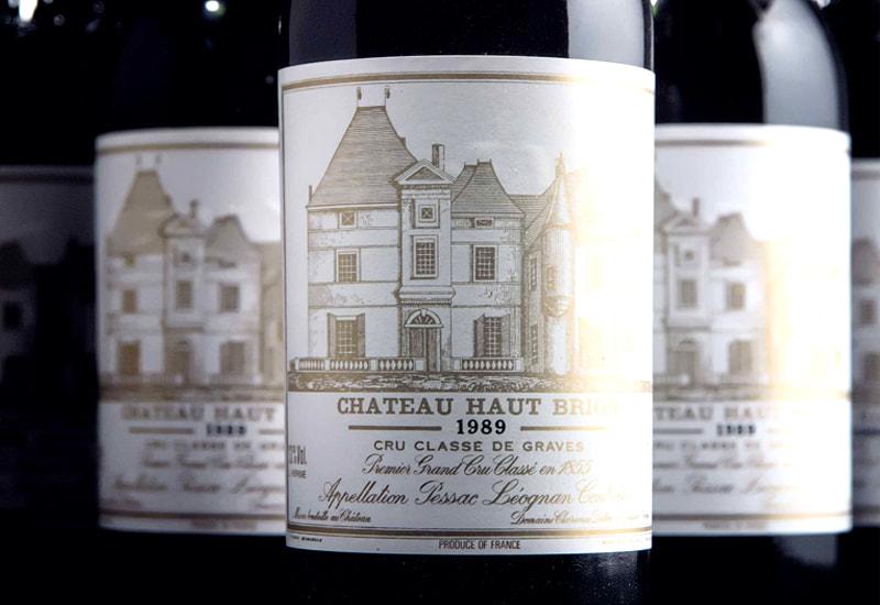 Château Haut Brion 1989, Pessac Leognan, France