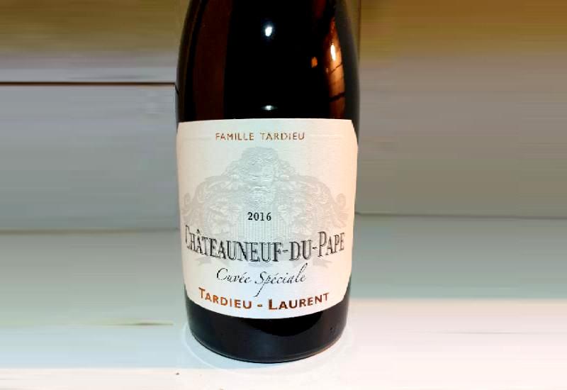 2016 Tardieu-Laurent Châteauneuf-du-Pape Cuvee Speciale, Rhone France