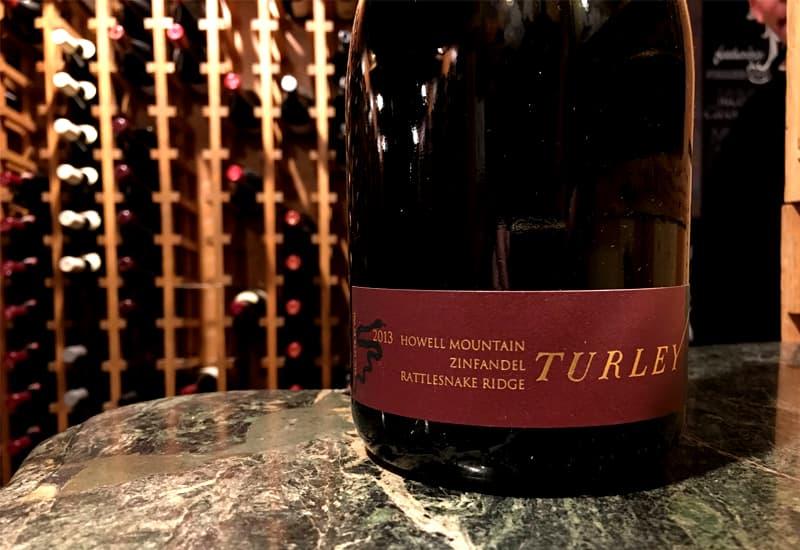 2013 Turley Wine Cellars Rattlesnake Ridge Zinfandel, Howell Mountain, USA
