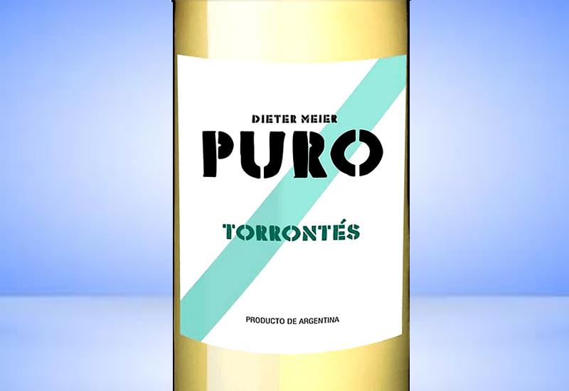 2016 Dieter Meier Ojo de Agua Puro Torrontes, Cafayate, Argentina