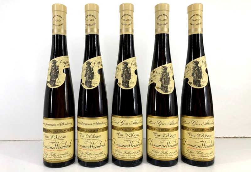 2002 Domaine Weinbach Pinot Gris Altenbourg Selection de Grains Nobles, Alsace, France