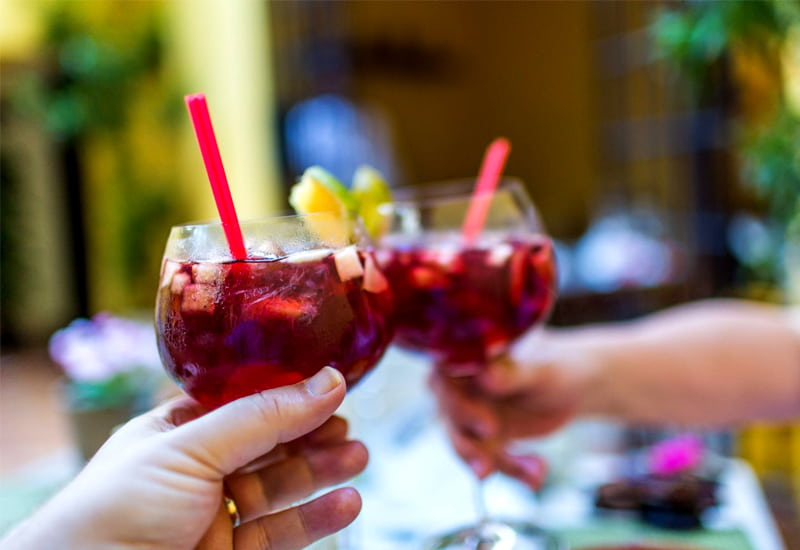 A Sangria to Ring in the Festive Season