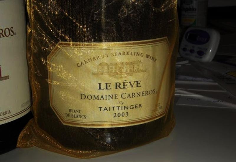 Domaine Carneros by Taittinger Le Reve Blanc de Blancs Sparkling Brut