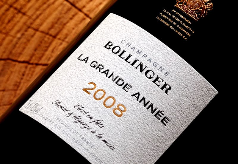 Bollinger La Grande Annee Brut, Champagne