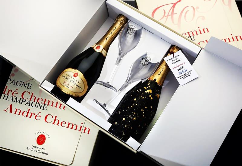 Andre Chemin Premier Cru Tradition Brut, Champagne, France