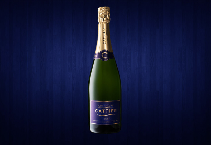 Cattier Glamour Dry, Champagne, France