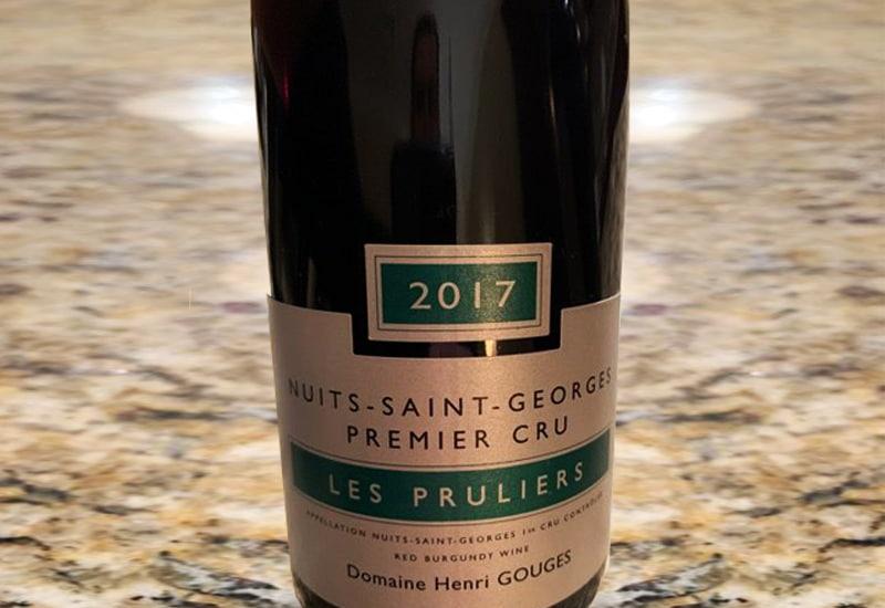 2017 Domaine Henri Gouges La Perriere Blanc Nuits-Saint-Georges Premier Cru France