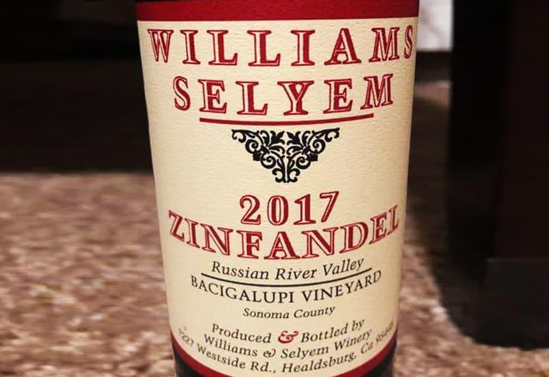 2017 Williams Selyem Bacigalupi Vineyard Zinfandel, Russian River Valley, USA