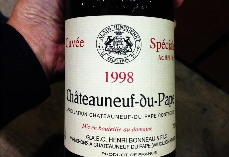 1998 Henri Bonneau Chateauneuf-du-Pape Reserve des Celestins