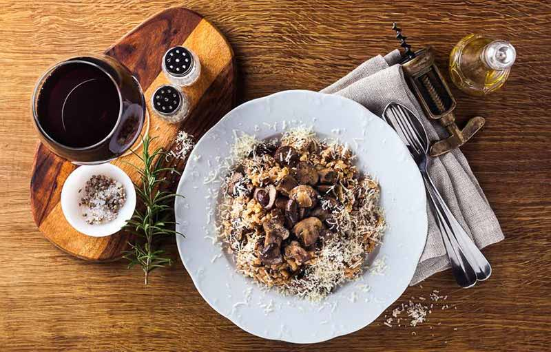 Food Paring with Burgundy Wine