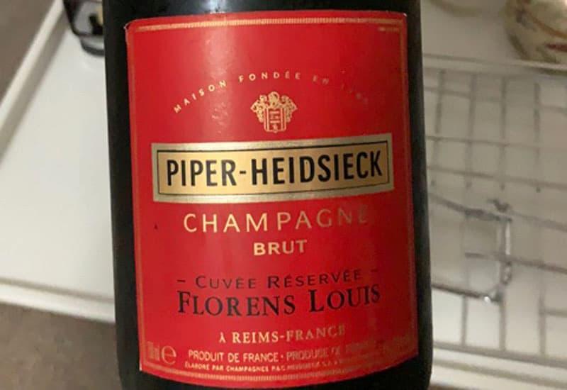 Piper Heidsieck Cuvee Reservee Florens Louis Brut