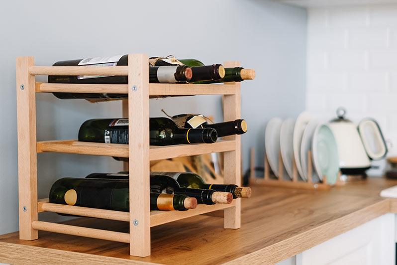 Tabletop Wine Rack