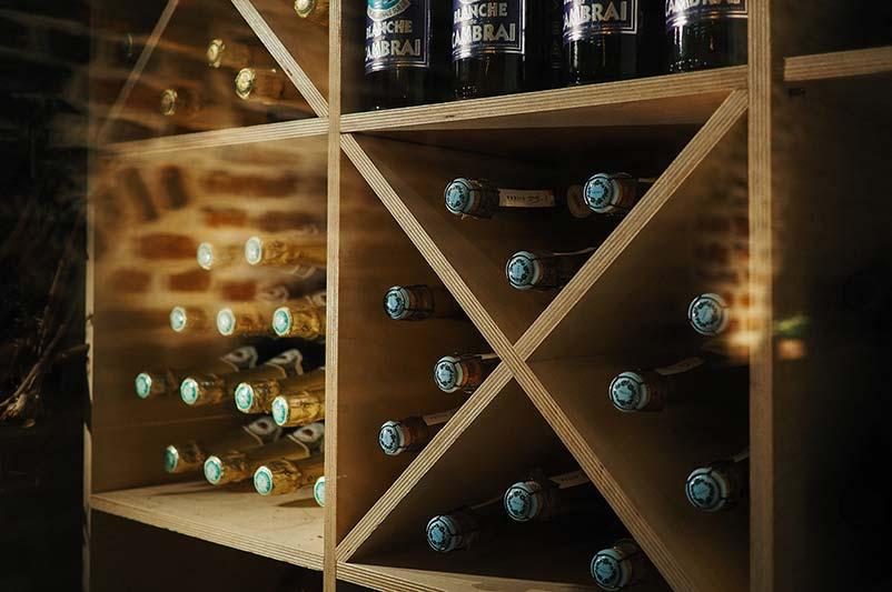 Hanging Wine Racks