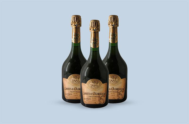1985 Taittinger Comtes de Champagne Brut Rosé