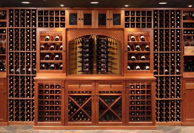 Non-refrigerated Wine Cabinet
