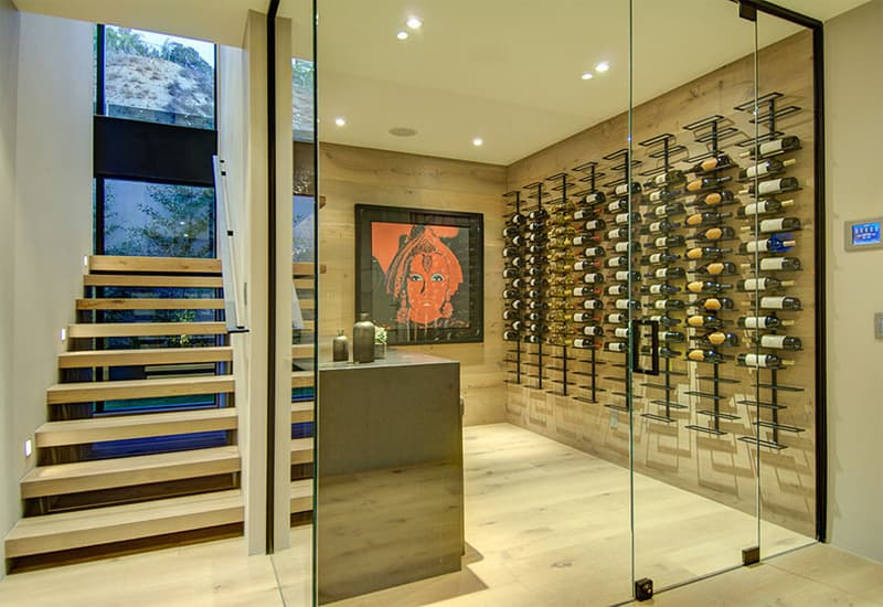 Wine Cabinet Door Types and Material