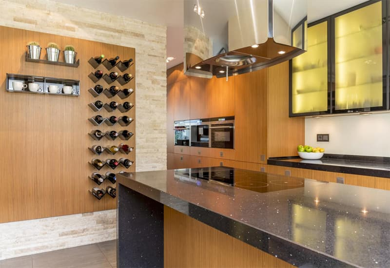 Additional Features in Wine Cabinets