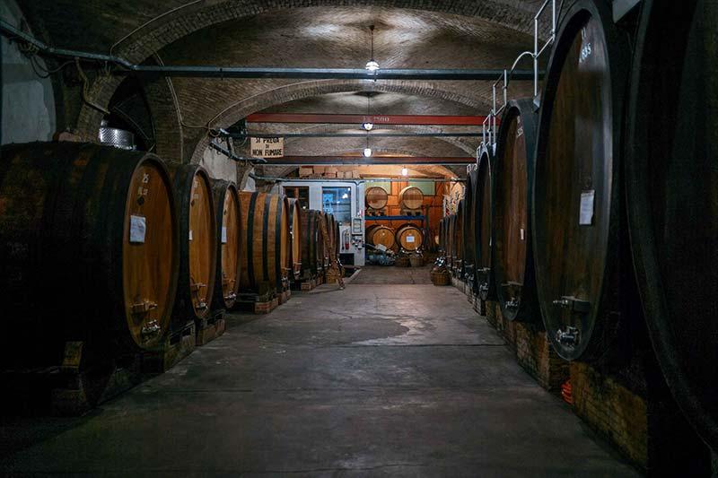 Giuseppe Mascarello cellar