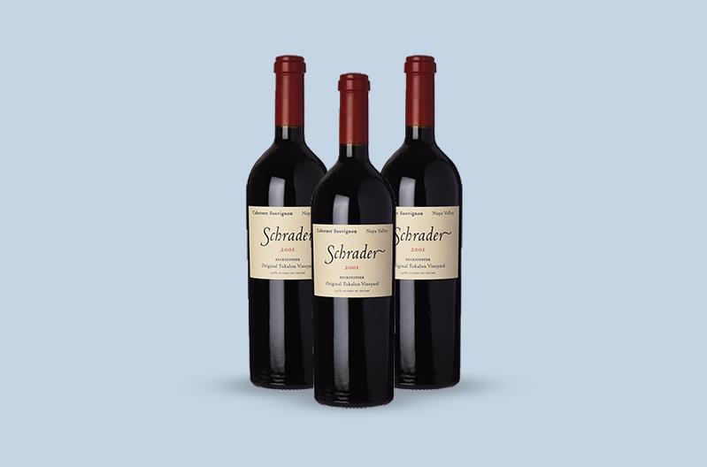 2001 Schrader Cellars Beckstoffer To Kalon Vineyard Cabernet Sauvignon, Napa Valley
