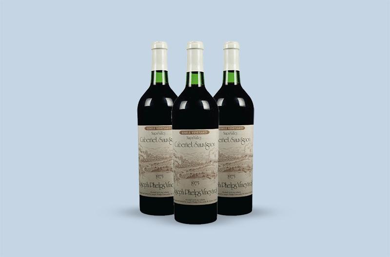 Joseph Phelps Vineyards Eisele Vineyard Cabernet Sauvignon 1975
