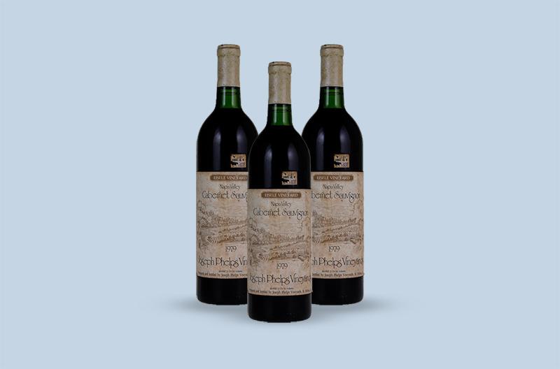 Joseph Phelps Vineyards Eisele Vineyard Cabernet Sauvignon 1979