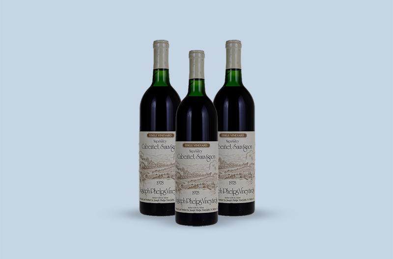 Joseph Phelps Vineyards Backus Vineyard Cabernet Sauvignon 1978