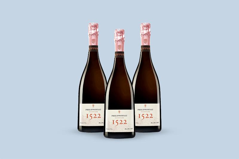 Philipponnat Cuvee 1522 Premier Cru Brut Rose Millesime, 2002