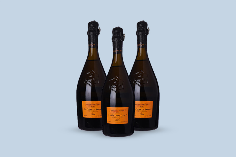 1998 Veuve Clicquot Ponsardin La Grande Dame Brut by Riva Collection, Champagne, France